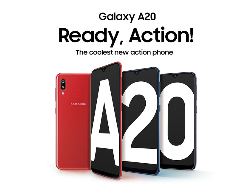 Samsung Galaxy A20 Price in Nepal