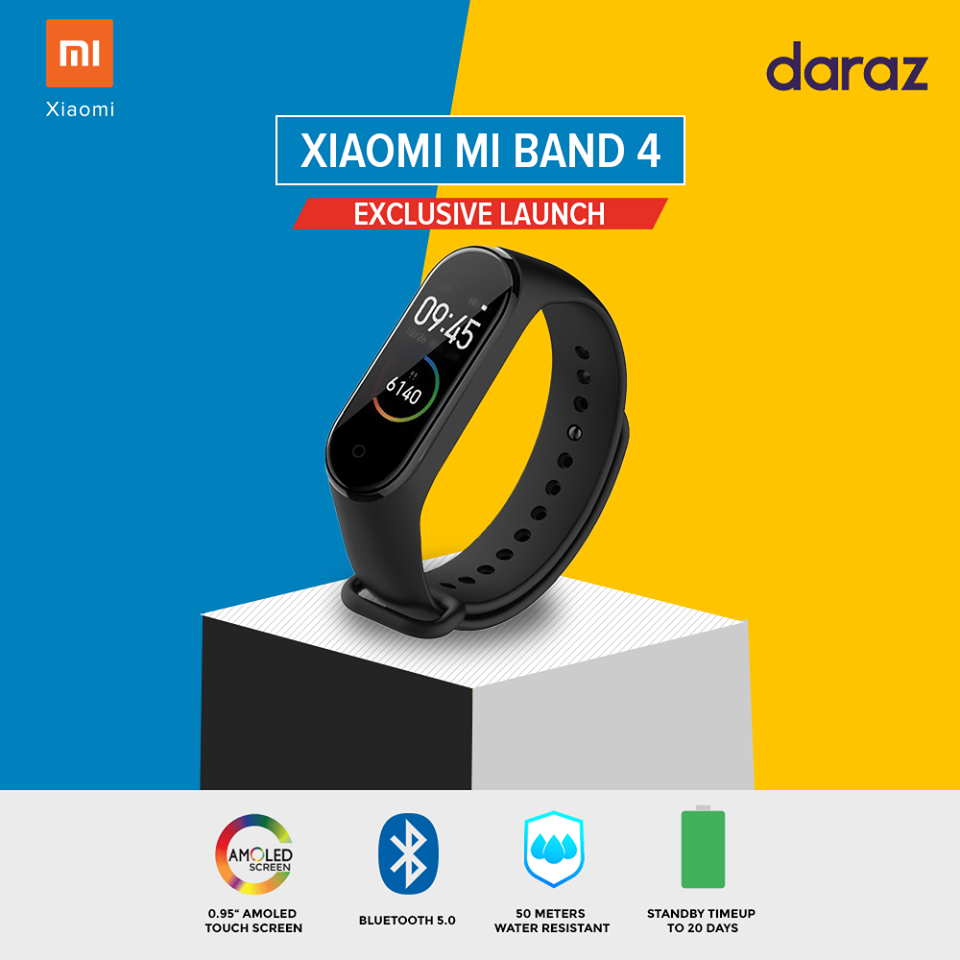 Mi Band 4 Price in Nepal