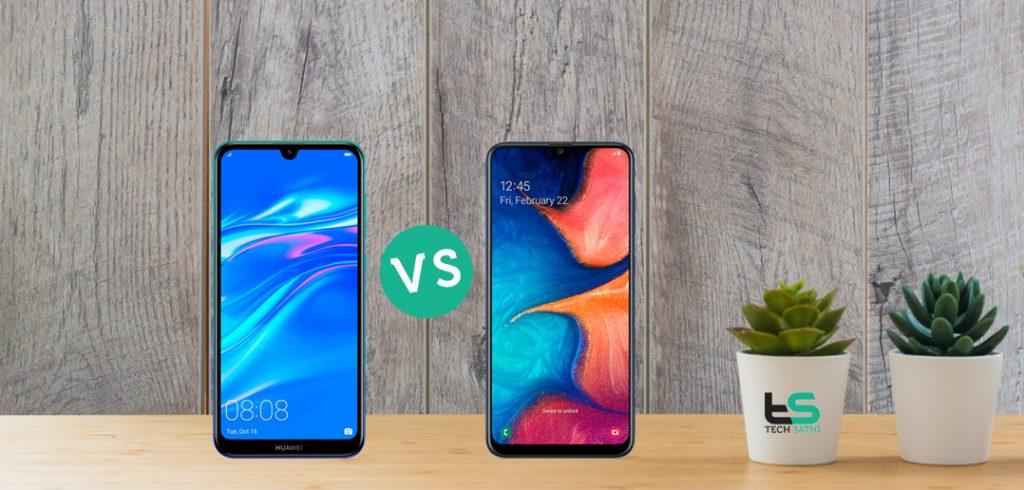 Huawei Y7 Pro 2019 vs Samsung Galaxy A20: Which one Wins
