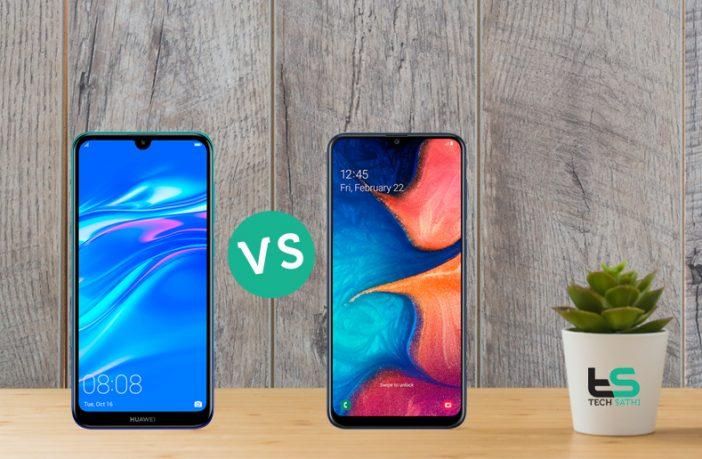 Huawei Y7 Pro 2019 vs Samsung Galaxy A20