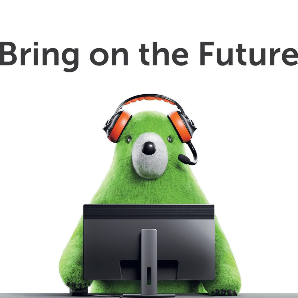 Kaspersky Bring on the Future