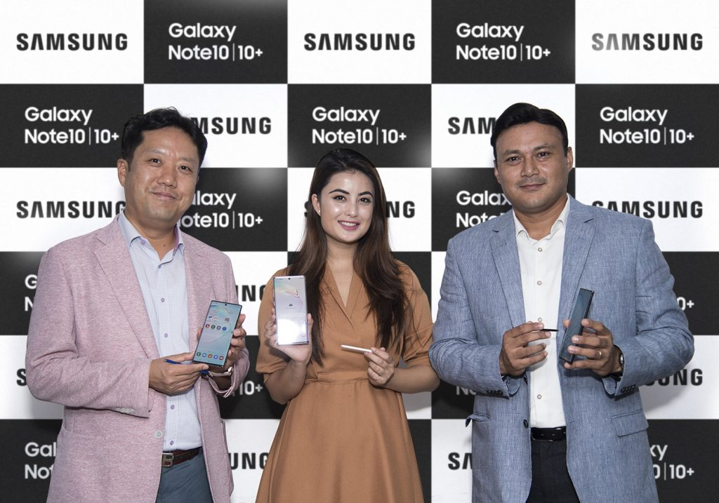 Samsung Galaxy Note 10|Note10+ Launch Nepal