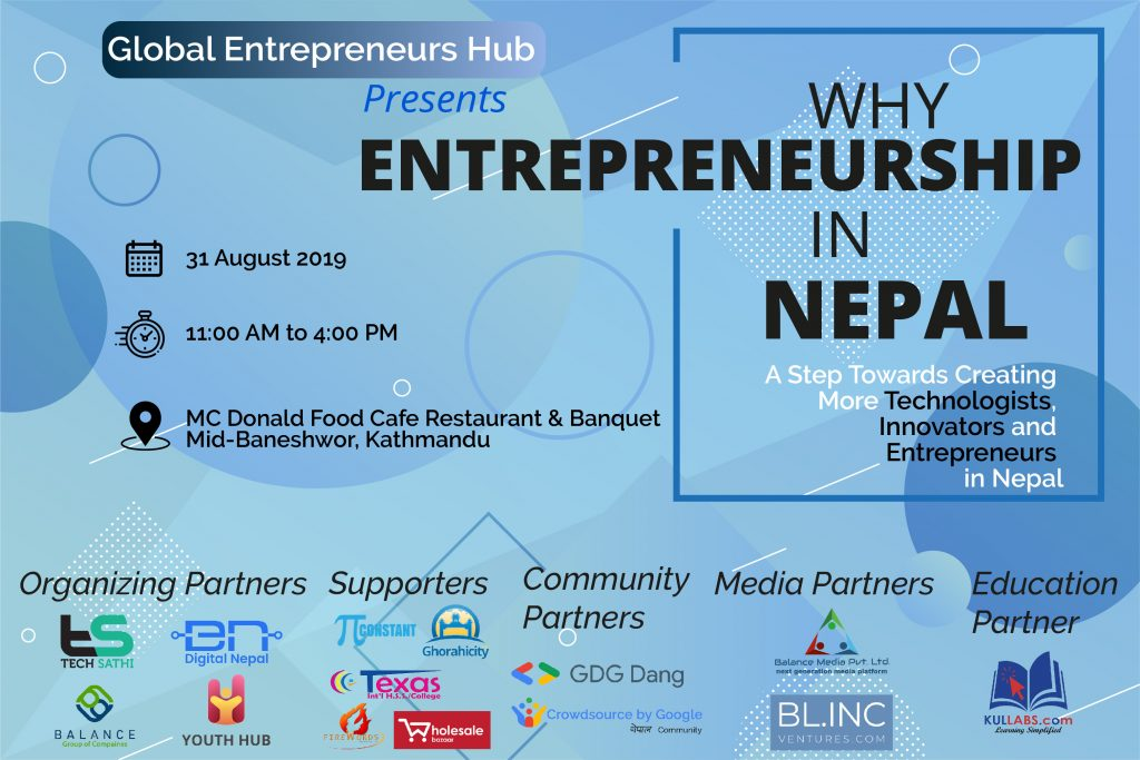 Why Entrepreneurship in Nepal