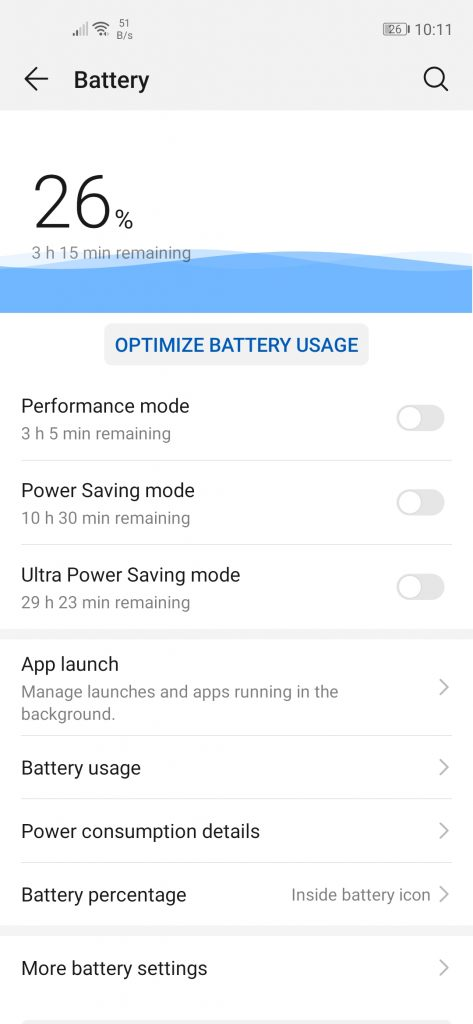 Huawei Nova 5T Review_Battery