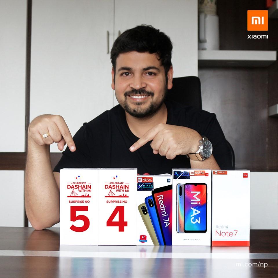 Xiaomi Dashain Offer 2076