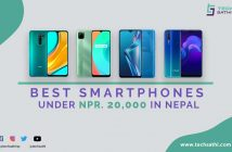 best smartphones under 20000 in nepal (August 2020)