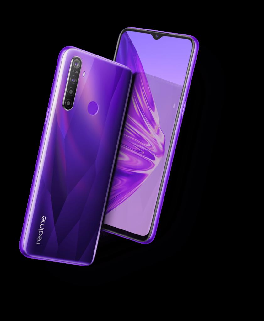Realme 5 Purple