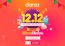 Daraz is ready to wrap up 2019 with 12.12 Campaign