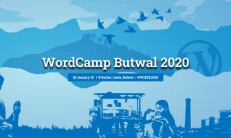 WordCamp Butwal 2020