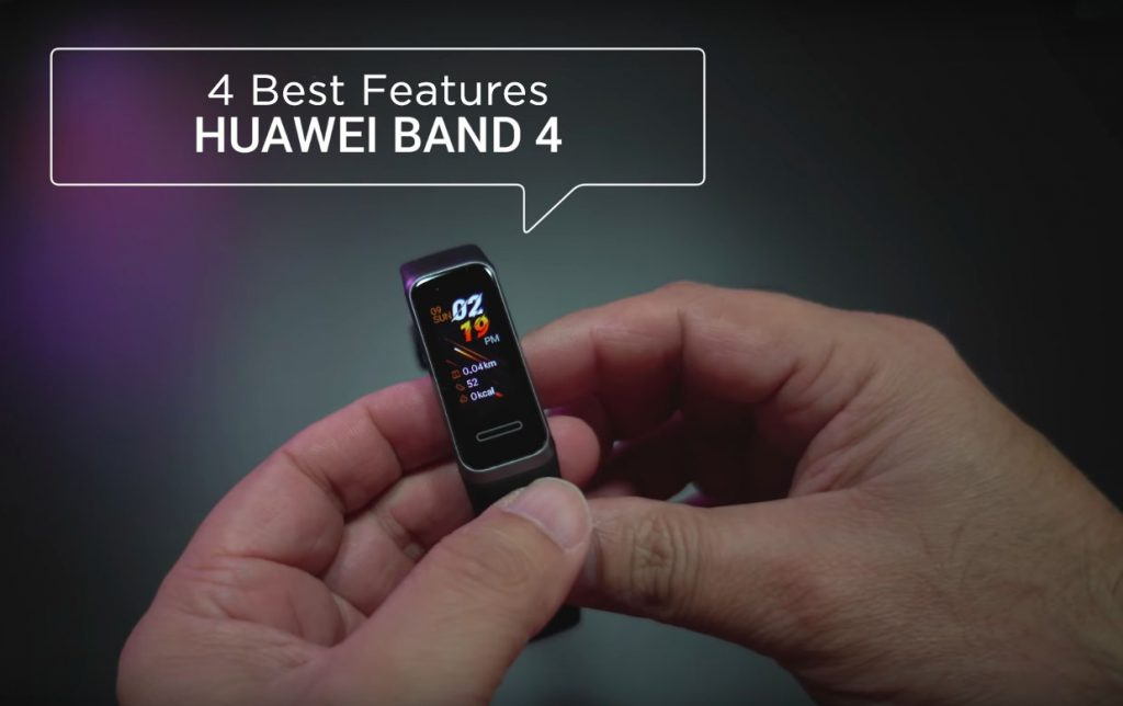 4 Best Features, Huawei Band 4