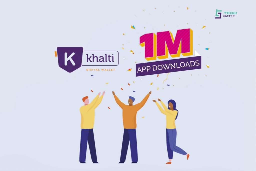 Khalti App Surpasses 1 Million Downloads