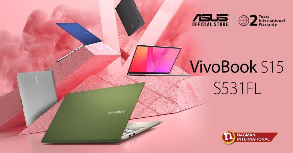 Asus VivoBook S15 Price in Nepal