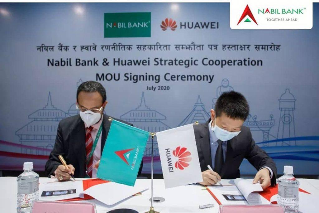 Nabil Bank Huawei
