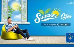 Nepal Telecom Summer Offer