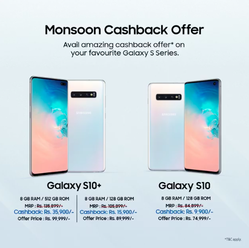 Samsung Galaxy S10 Price Drop