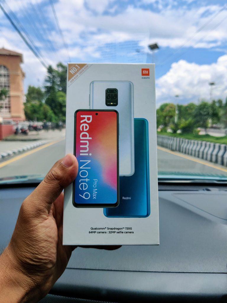 Redmi Note 9 Pro Max Box_TechSathi
