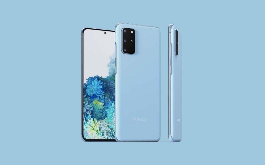Samsung Galaxy S20_Blue