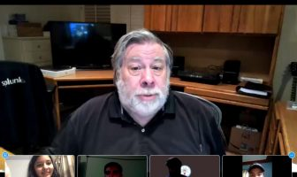 Steve Woz at QuantumHack