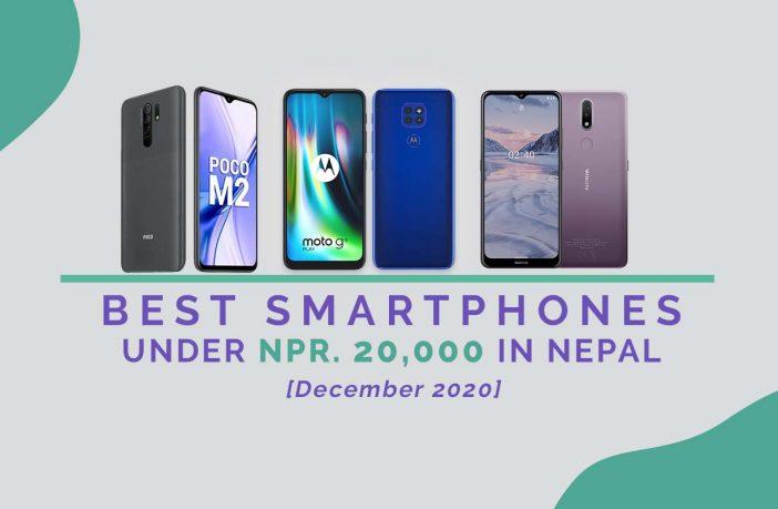 BEST SMARTPHONES UNDER 20K (Dec 2020)