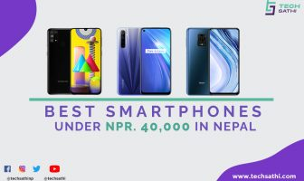 Best Smartphones Under 40000 in Nepal