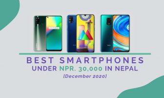 [Dec 2020] Best Smartphones Under 30000 in Nepal
