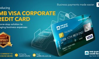NMB VISA CORPORATE CREDIT CARD