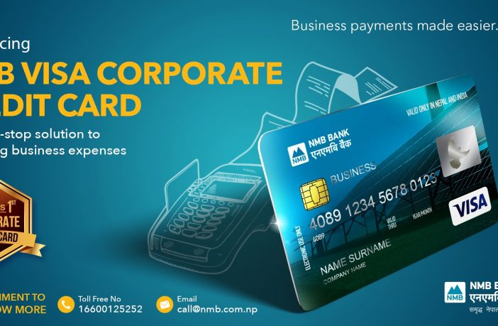 NMB VISA CORPORATE CREDIT CARD