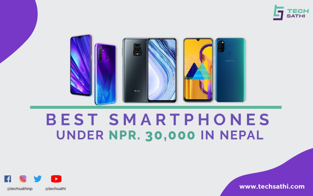 best smartphones under 30000 in nepal