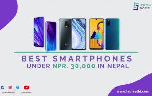 best smartphones under 30000 in nepal