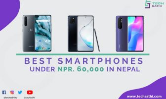 best smartphones under 60000 in Nepal