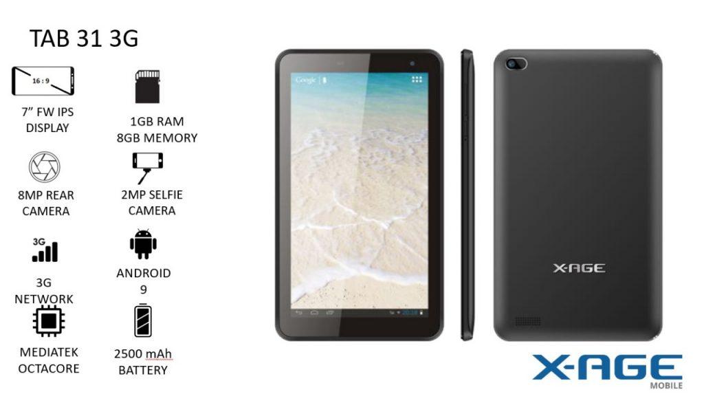 X-Age Tab 31 3G