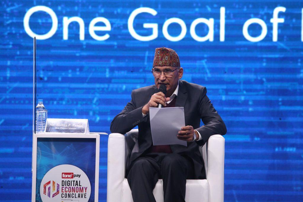 Bishnu Paudel_Finance Minister, Fonepay Digital Economic Conclave 2020