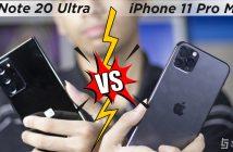 Galaxy Note 20 ultra vs Iphone