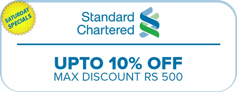 daraz black friday standard chartered