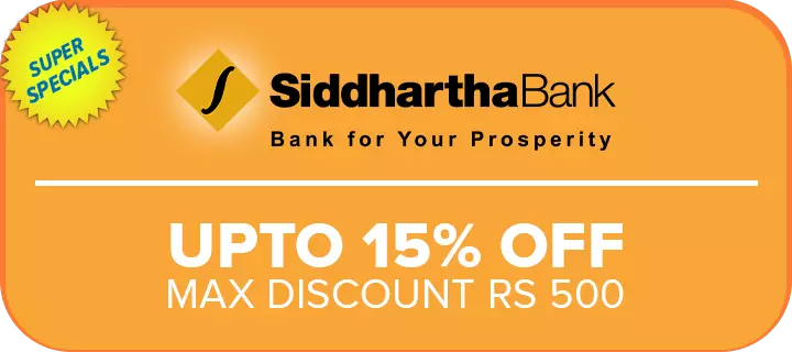 daraz black friday siddhartha bank