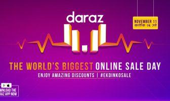 Daraz 11-11 Banner
