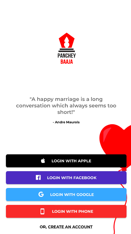 panchey baaja app_getting started