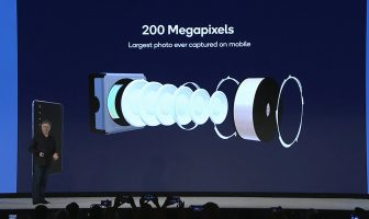 200MP Camera sensor