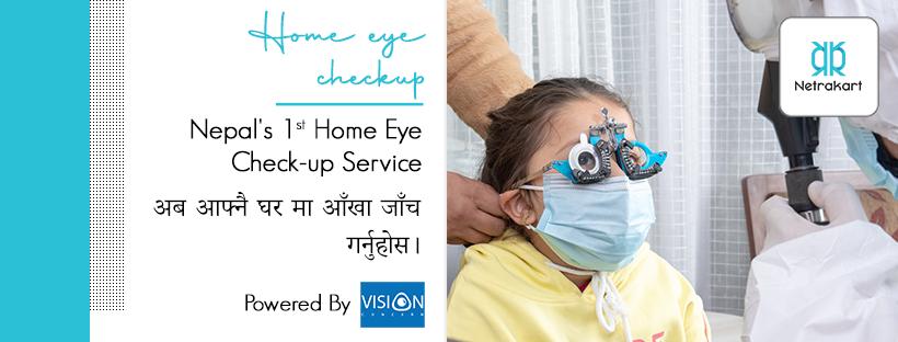 Netrakart Home Eye Check Up Service Nepal