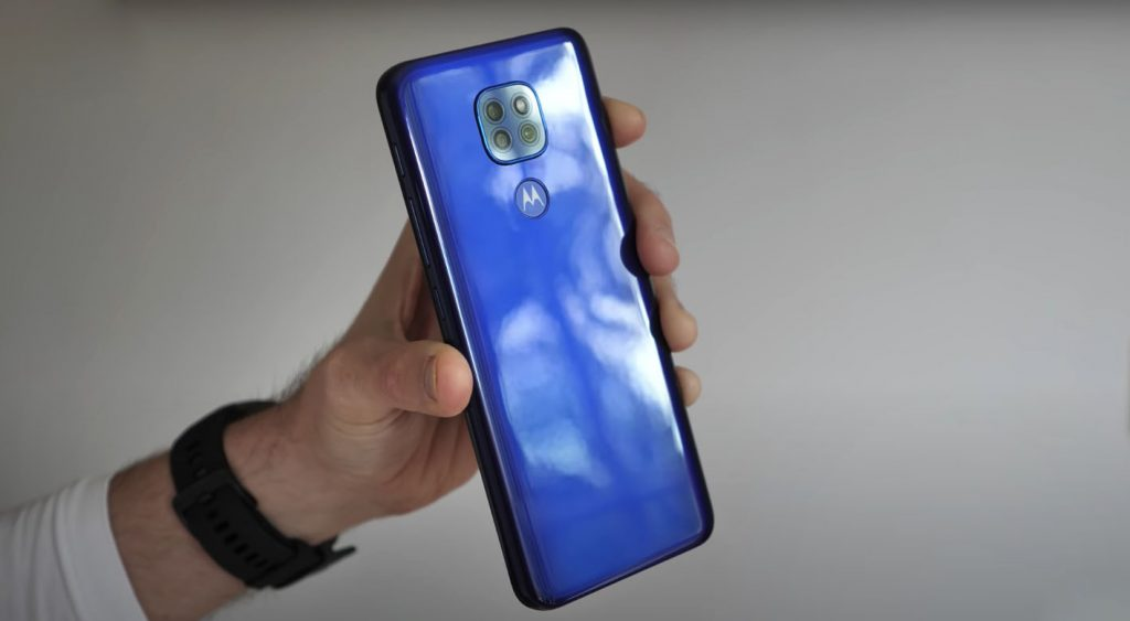 Moto G9 Play Design