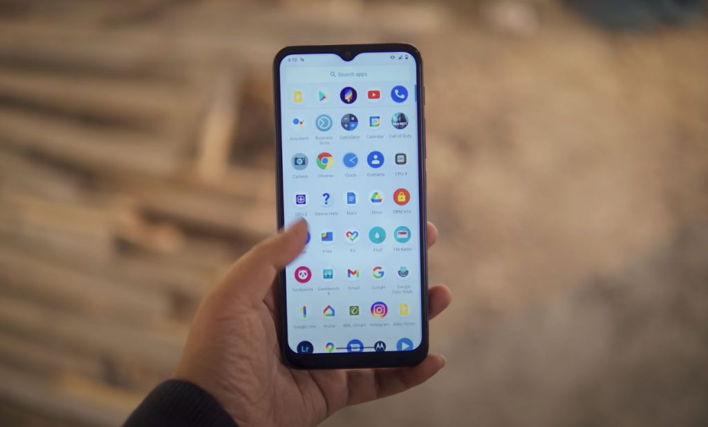Moto G9 Play Display