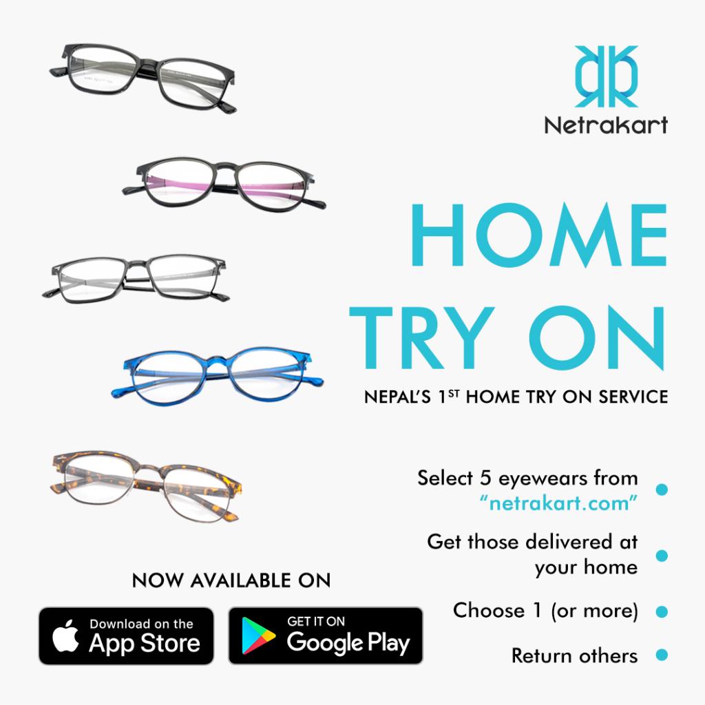 NetraKart Home Try On