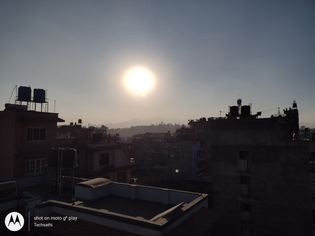 Normal (Against Sunlight) Sun Focus