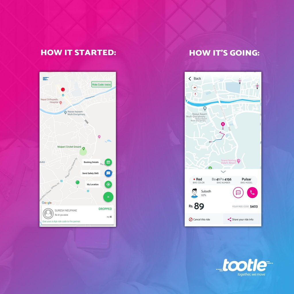 Tootle App