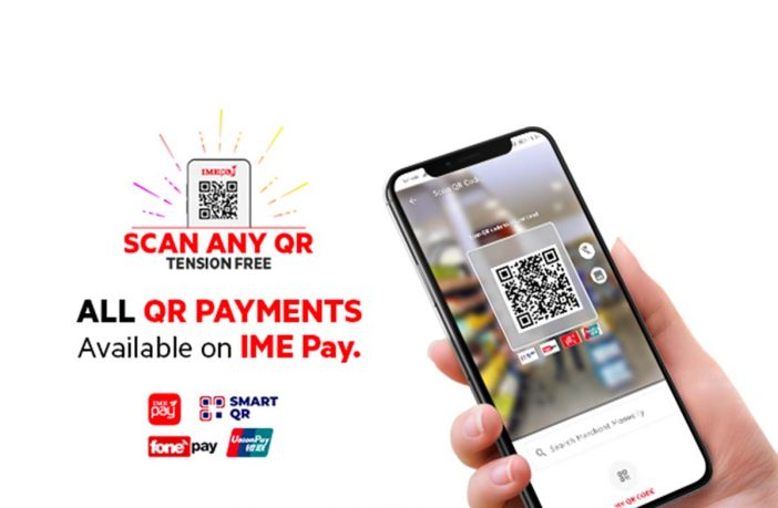 IMEPay QR Fonepay, IME Pay Wallet