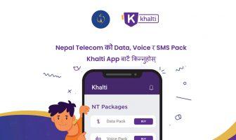 Nepal Telecom Data Packs Khalti