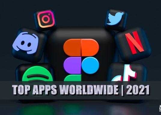 Top 10 Apps Worldwide in Q1 2021