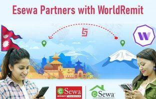 Esewa partners with world remit