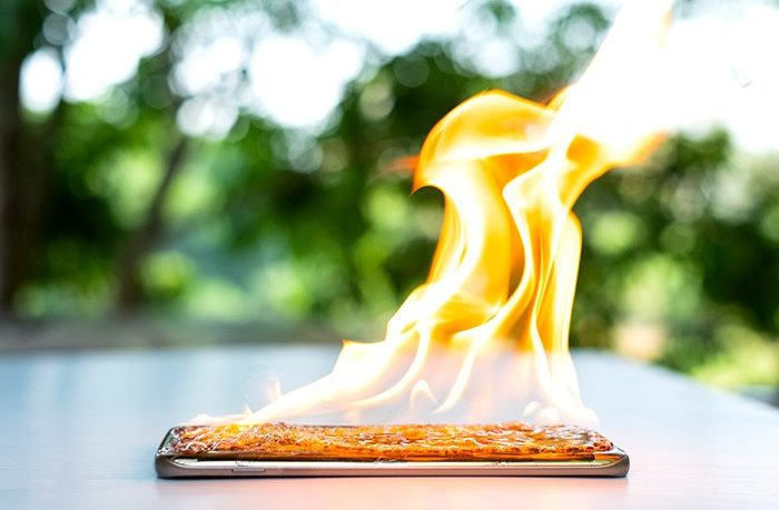 Why your Smartphone gets Hot