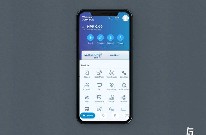 CellPay Wallet App
